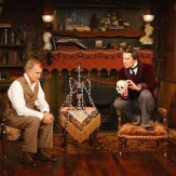 Richard A. Farrell as Watson, Michael Santo as Holmes, Milwaukee Rep 2010