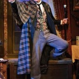 Michael Santo as Holmes, Milwaukee Rep 2010